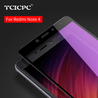 For Xiaomi Redmi Note 4 Tempered Glass 5 5 Full Cover Screen Protector 9H Nano Coating