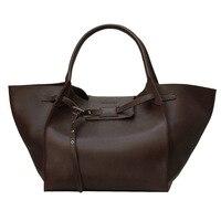 Модные большие крылья из натуральной кожи роскошные сумки женские сумки дизайнер просто и инновационные коровьей женские сумки на ремне