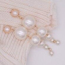 Elegant Created Big Simulated Pearl