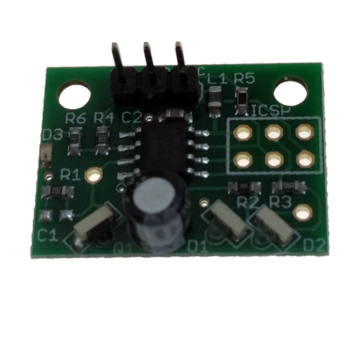 Mini differential IR height sensor for DIY BLV 3d printer, compatiable with Duet Wifi v1.03 board, with cables. image