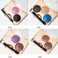 2016 Hot Sale Mini Portable 3 Colors Eyeshadow with Brush For Sale