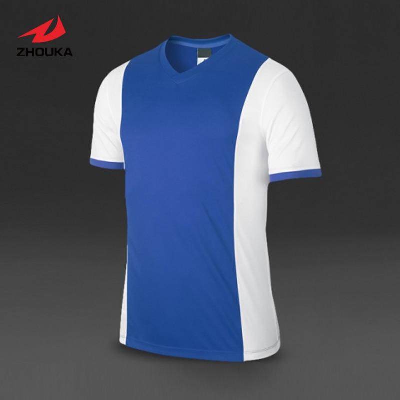 V neck sublimation custom soccer tshirt customized name for Small quantity custom t shirts