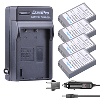4pcs BLS 5 BLS50 BLS5 BLS 50 camera battery + Wall charger for Olympus E PL2,E PL5,E PL6,E PL7,E PM2,OM D,E M10,E M10,Stylus 1
