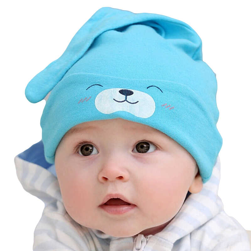 Bigsweety 1pc/ Lot New Style Baby Cotton Hat Baby Knitting Beanies Child Sleep Hat Toddler Cap Newborn Clothing Accessories