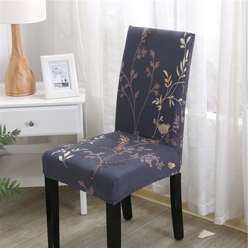 Floral Printing Stretch Elastic Chair Covers Spandex For Wedding Dining Room Office Banquet chair covering housse de chaise canirica chair cover modern style housse de chaise chair covers spandex elastic all inclusive hotel banquet wedding chair cover