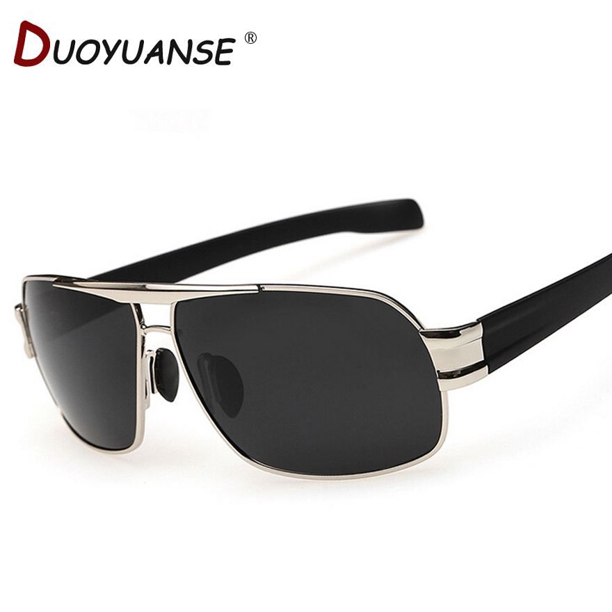 Free shipping within 2015 new high quality man polarizing sunglasses driving sunglasses P3258 coating alloy okulary wojskowe