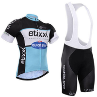 Team Quick Step 2018 Men Cycling Jersey Set Cycling Clothing Ropa Ciclismo Jersey Pro Bicycle Wear Bike Clothes Sets 16D Gel Pad