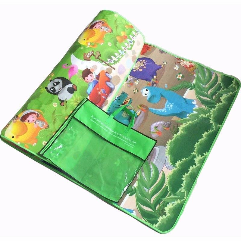 HTB1h0MYbA9E3KVjSZFGq6A19XXaD 0.5cm Double-Side Baby Crawling Play Mat Dinosaur Puzzle Game Gym Soft Floor Eva Foam Children Carpet for Babies KidsToys