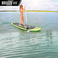 2019 Aqua Marina Breeze 9'9 BT 18BRP inflatable surfboard inflatable surf board stand up paddle kayak inflatable fishing boat