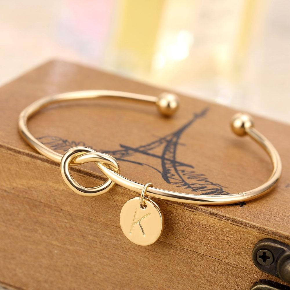Женский браслет с надписью IPARAM, золотистый, серебристый, розовый, золотой браслет с регулируемой A-Z, браслет с цепочкой в виде змеи, 2019