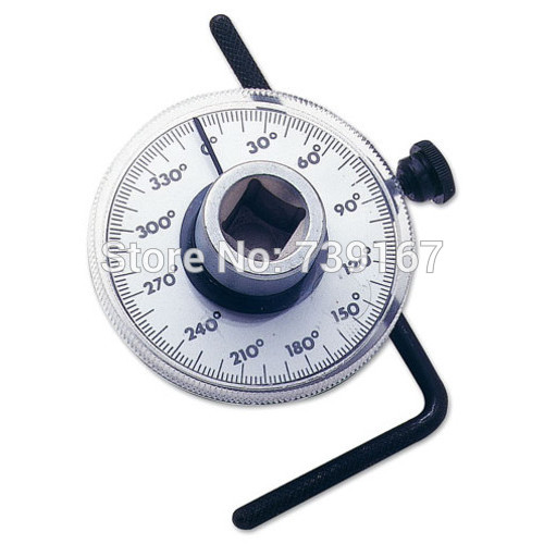 Professional 1 2 Inch Adjustable Drive Torque Angle Gauge Auto Garage Tool Set For Hand Tools