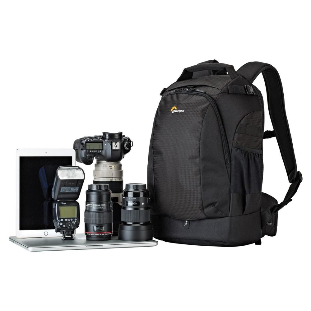 Image 2 - Wholesale Gopro Lowepro Flipside 400 AW II  Digital SLR Camera Photo Bag Backpacks+ ALL Weather Cover Free Shipping-in Camera/Video Bags from Consumer Electronics