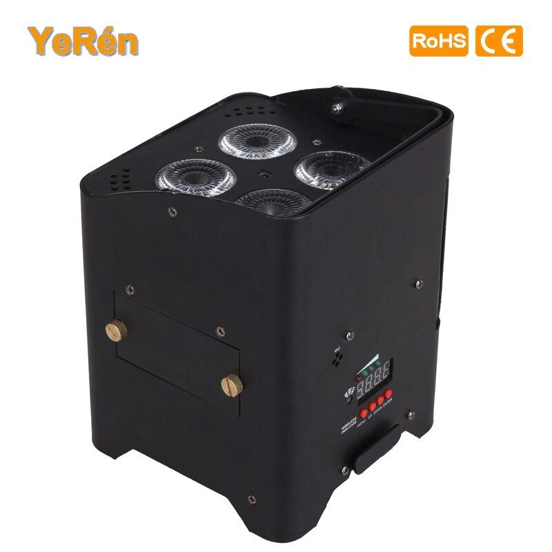 DMX Wireless Battery Powered LED Par Light RGBWA UV 6in1 Color Led Wash Light DJ Lights