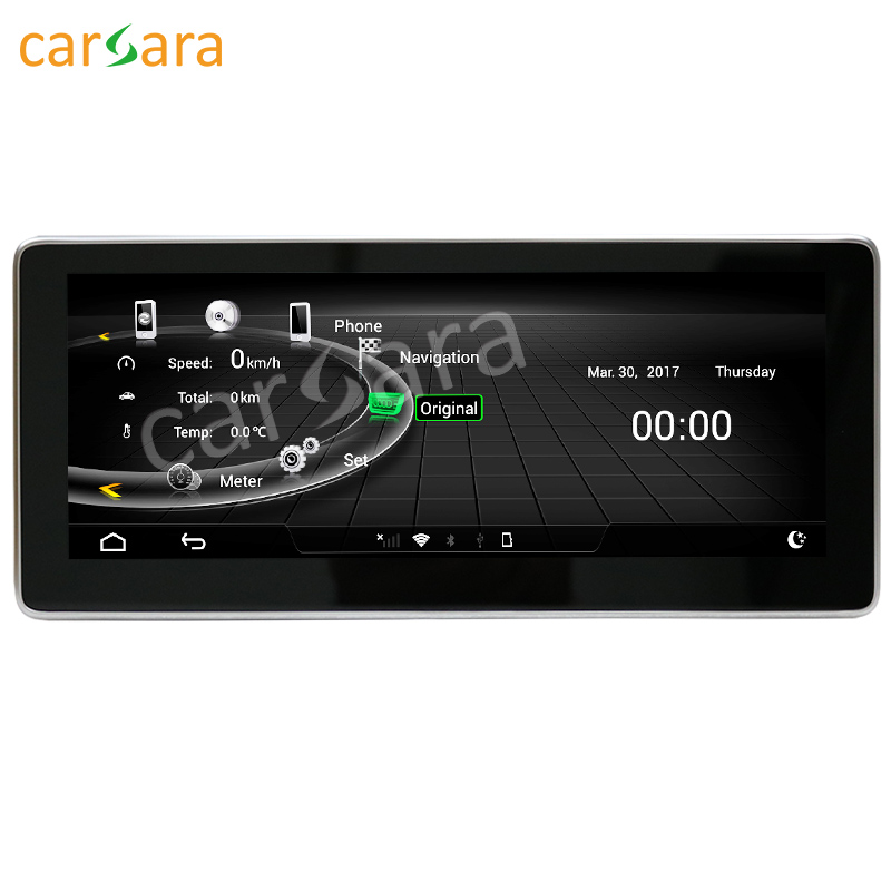 10.25 Android monitor for Audi A4L A5 S4 S5 2009-2016 touch screen GPS Navigation multimedia player