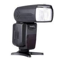 TRIOPO TR-985N Blitz Speedlite ich-TTL Kamera Flash Hochgeschwindigkeits Sync 1/8000 s Tft Display Speedlite für Nikon Digital SLR