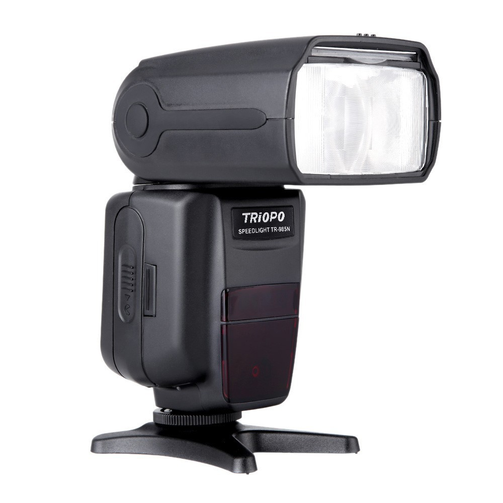 TRIOPO TR-985N Flash Speedlite i-TTL Camera Flash High Speed Sync 1/8000s TFT Colour Display Speedlite for Nikon Digital SLR цены онлайн