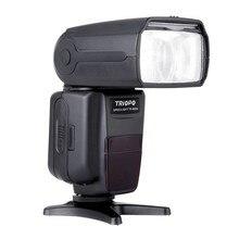 TRIOPO Flash Speedlite TR-985N i-Flash Da Câmera TTL de Alta Velocidade de Sincronização 1/8000 s Tft Colour Speedlite para Nikon Digital SLR