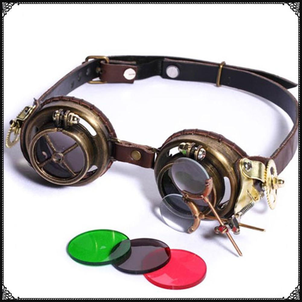 MISSKY Party Steampunk lunettes Steampunk défis mrwonder Art Costumes accessoires