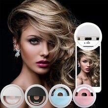 USB charge LED Selfie Ring Light for iPhone Supplementary Lighting Night Darkness Selfie Enhancing for phone Fill Light