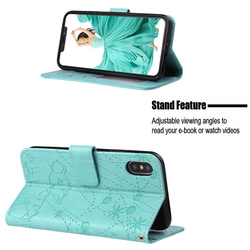 Luxury Flip for Iphone X Xr Xs Max Card Pack Magnetic Wallet Holder Phone Case Iphone 7 8 Plus Fundas Pu 6 6s Plus 5s 5 Se Case 3