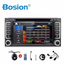 Electrónico del coche de 2 din Coche Reproductor de DVD de Navegación GPS de 6.2 pulgadas Radio En Dash 2din para toyota Coche Bluetooth Estéreo Vídeo Envío mapa