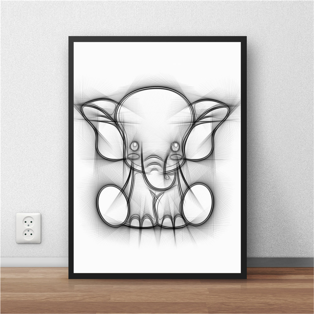 Buy elephant painting wall living rooms and get free shipping on ...