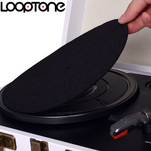 Image 4 - LoopTone alfombrilla de fieltro antiestática para tocadiscos, diseñada para una calidad de sonido clara y en vivo, Universal para todos los reproductores de discos de vinilo LP