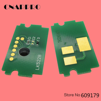 5 conjuntos tk5240 tk5241 tk5242 toner chip para kyocera ecoys m5526cdw m5526cdn p5026cdw p5026cdn TK 5240 redefinir chips de cartucho|toner chips|cartridge chip|reset chip -