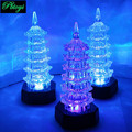Exquisite Pagoda Toy Psychedelic Romantic Lighting Lovely Gift Wholesale Ancient Orient Towering King Toys PF0508
