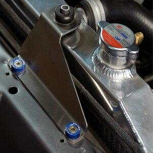 Image 5 - JDM نمط الحاجز غسالات (10 قطعة/الحزمة) الألومنيوم غسالات و الترباس لهوندا سيفيك إنتيجرا RSX EK EG تيار مستمر QRF001