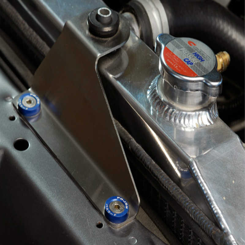 JDM Stil Fender Yıkayıcılar (10 adet/paket) alüminyum Yıkayıcılar Ve Cıvata Honda Civic Integra RSX EK EG DC QRF001