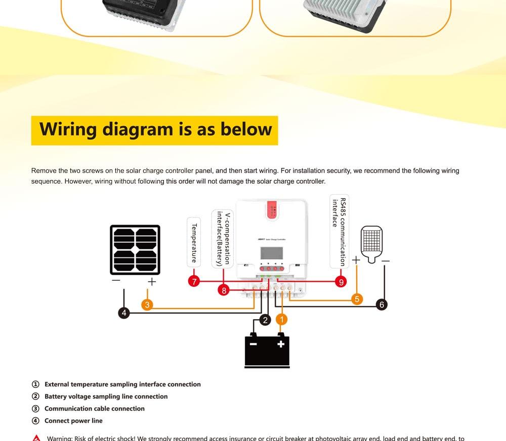 20a 30a 40a 60a 12v 24v Or 36v 48v Mppt Solar Charger Controller Agm Charge Wiring Diagram 2 04