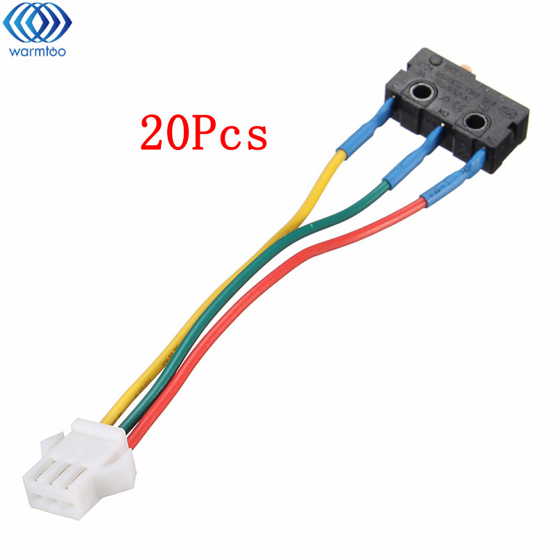 20Pcs Gas Water Heaters Accessories Micro Switch Kitchen Burning Gas Burner Switch Home Appliance Accessories Durable Quality gas stove micro switch stoves accessories ignition switch gas stove valve thermocouple accessories switch