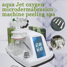 Aqua Facial cleaningl Machine RF Bio-lifting Spa  water Peeling Dermabrasion Free shpping