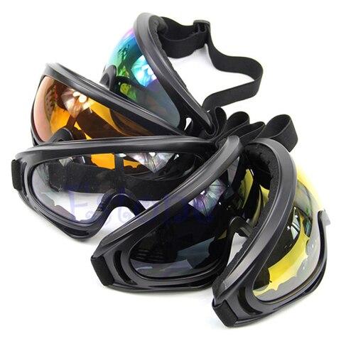 Winter Snow Sports Skiing Snowboard Snowmobile Anti-fog Goggles Windproof Dustproof Glasses Sunglasses Eyewear Karachi