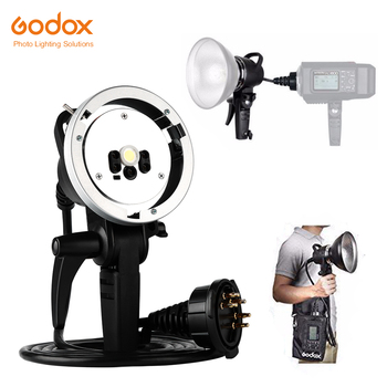 Godox AD-H600/AD-H600B Portable Flash Head for AD600 AD600B AD600M AD600BM OFF-Camera with Godox Mount or Bowens Mount