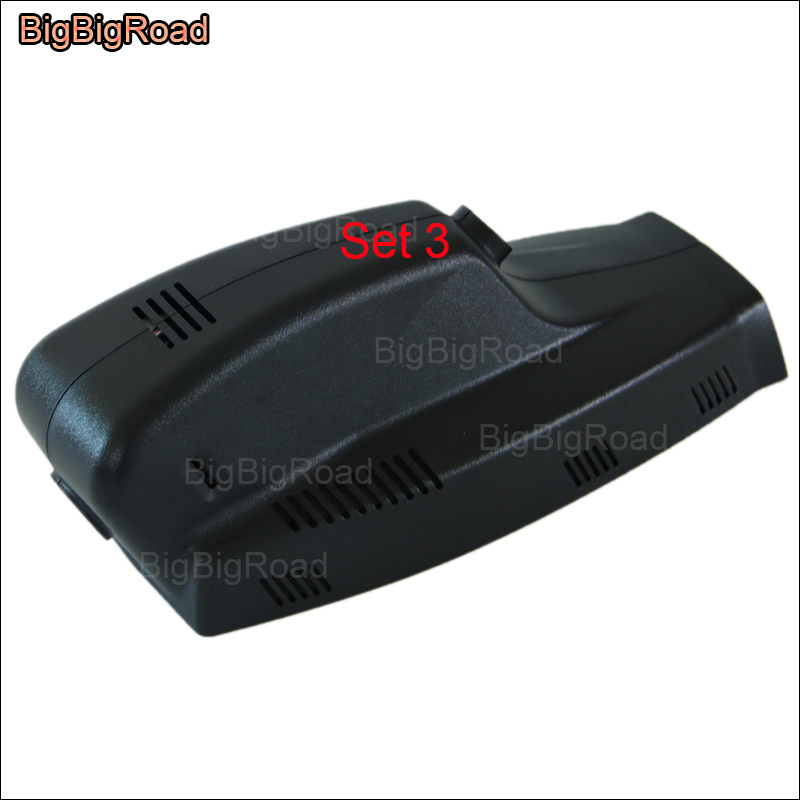 BigBigRoad Car DVR Wifi Video Recorder DashCam For BMW f26 GT f34 f07 X1 e84 f48 X3 f25 e83 X4 X5 e53 e70 f15 X6 2007--2008 image