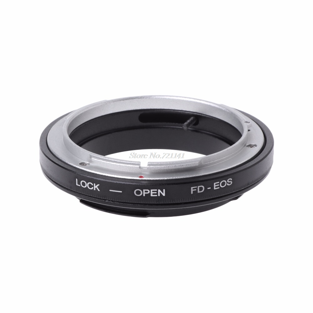 FD Mount Adapter Ring For FD Lens To EF Mount Camera Camcorder New 2018 Electronics Stocks