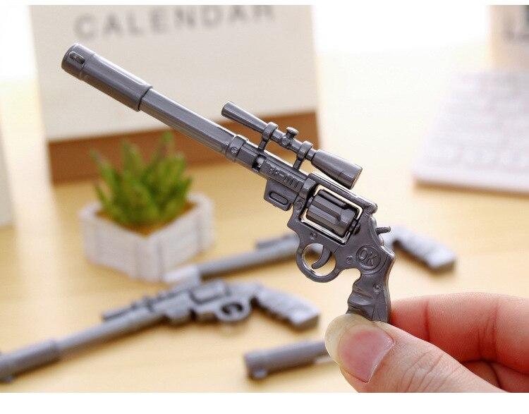12 шт. Дети День рождения пользу пистолет дизайн шариковая ручка Baby Shower подарочные сувениры для девочек мальчик пользу