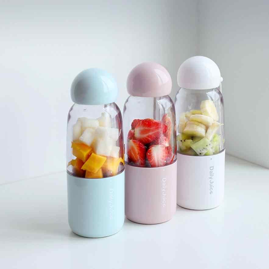 2018 350 ml Nova Chegada Fabricante de Milk Shake Espremedor de Frutas Liquidificador Recarregável Handheld Portátil Xícara de Suco de Liquidificador 2qw0804