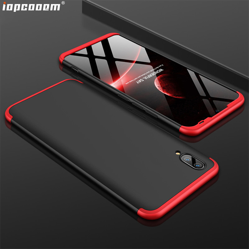 VIVO Y95 Phone Case For VIVO Y93 Cases stitching Protection + Ultra Thin Protective Back Cover For VIVO Y91 Coque
