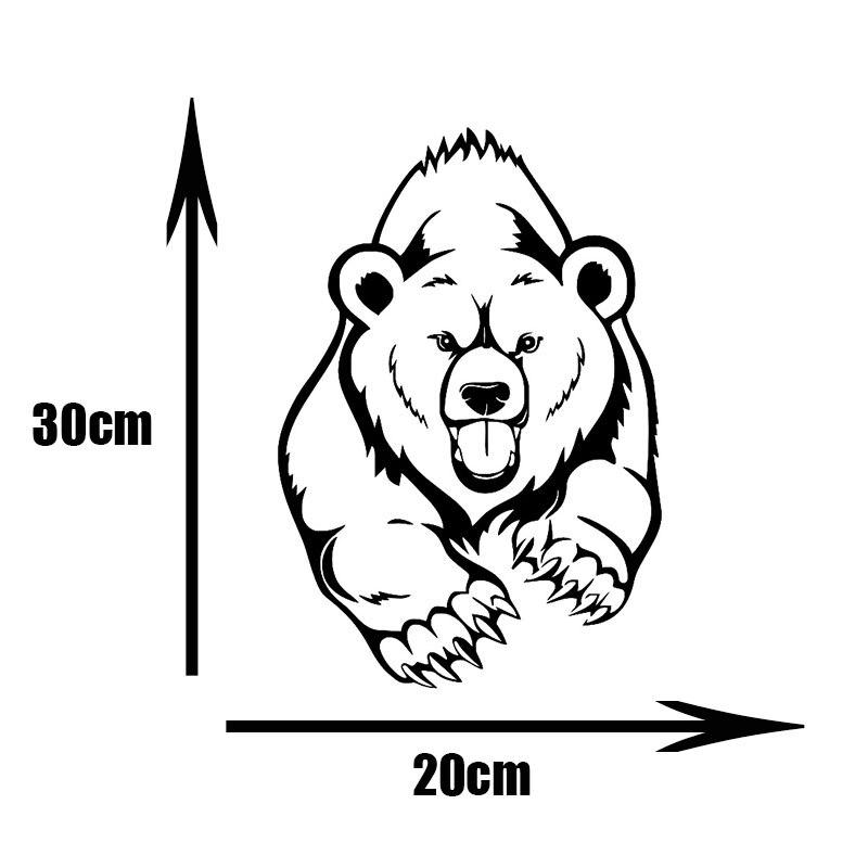 Crazy Bear   JDM Sticker