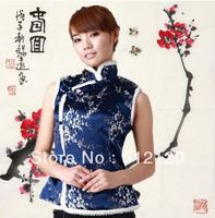 Free Shipping 2014 New Ethnic Clothing Chinese Traditional Clothes Vests For Women Women Chinese Traditional Jackets
