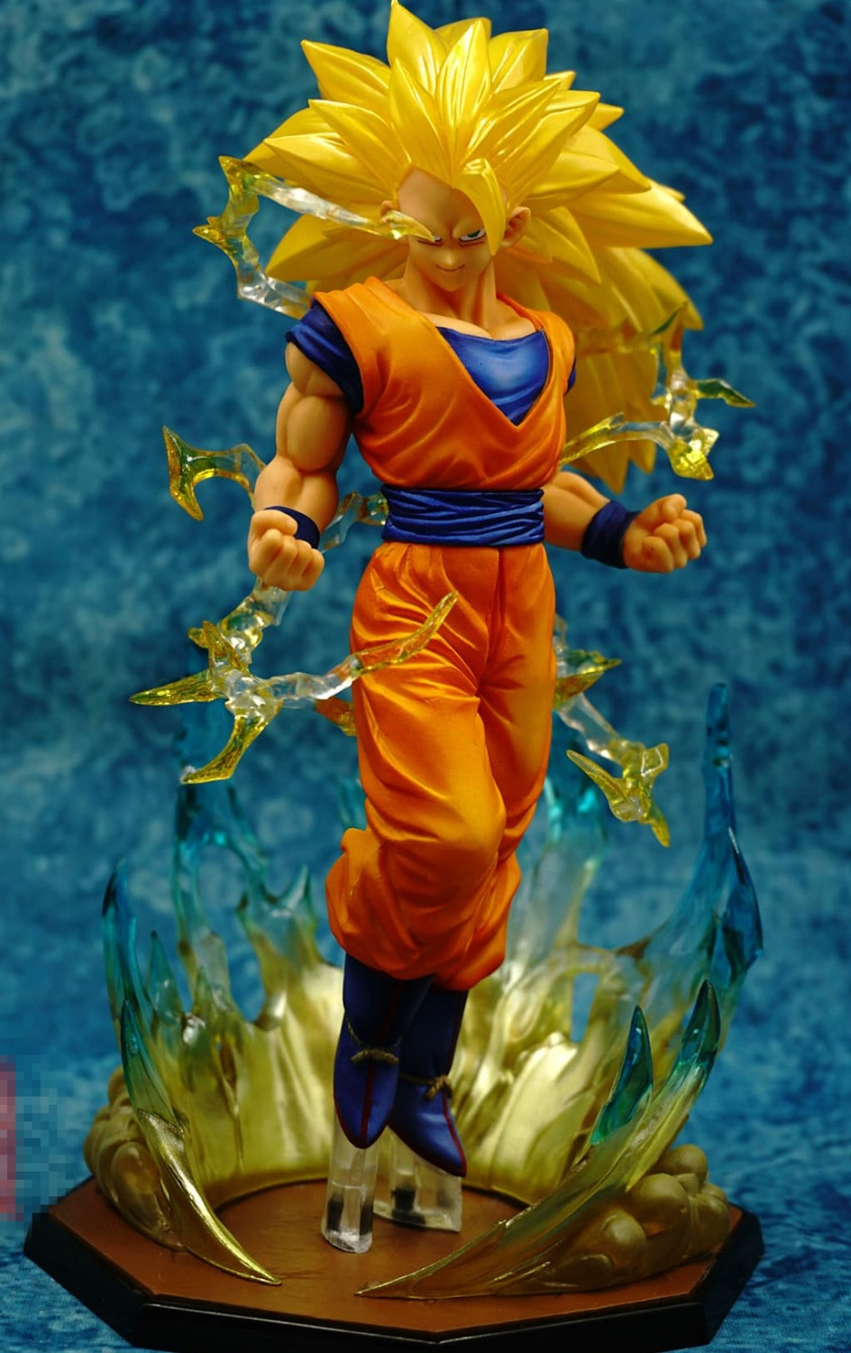 7'' 18CM Anime Dragon Ball Z Action Figure Goku Super Saiyan 3 Son Goku PVC Dragon Ball Z Action Figures Collectible Toy anime dragon ball z toy figure goku figures son goku pvc action figure chidren favorite gifts 15cm approx retail shipping