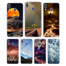 Silicone Case Thunderstorm for Samsung Galaxy Note 8 9 M30 M20 M10 S10 S9 S8 Plus Lite S6 S7 Edge Cover