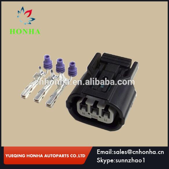 6189-0887 6918-1833 For Honda Acura Sensors Sumitomo Center Rib 3 Pin HX 040 Female Connector