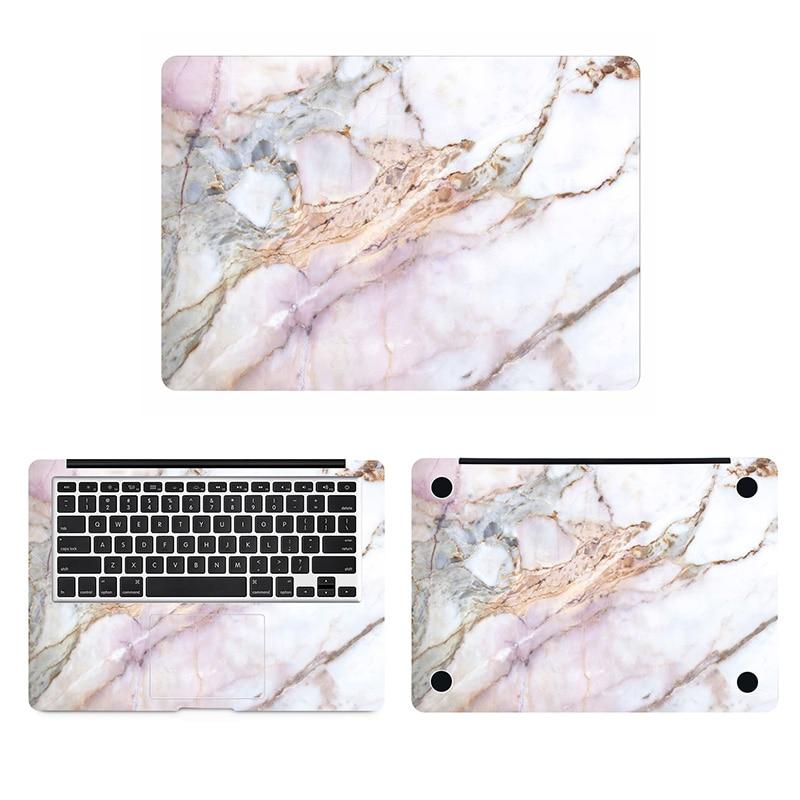 Marble Art Capa Full Body Adesivo de Pele para Macbook Pro Air Retina 11 12 13 15 polegada 17 HP Acer mac Mi Superfície Livro Laptop Decalque