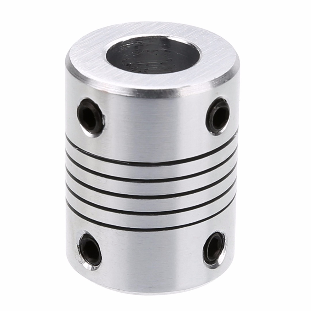 New Flexible Shaft Coupling Aluminum Alloy CNC Stepper Motor Coupler Connector 5*8mm/5*10mm for Stepper Motor 3D Printer 1 18 diecast model for isuzu mu x silver suv alloy toy car miniature collection gifts mux mu x