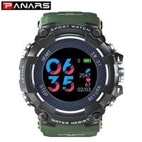 PANARS Homens Relógio Inteligente Relógio Pedômetro Smartwatch Relógio Bluetooth Digital Profissional À Prova D' Água Esporte para Ios Android Phone|Relógios esportivos|   -