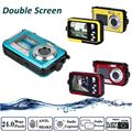 Free Shipping!HD 1080P 24MP Double Screen 16x Zoom Underwater Digital Video Camcorder Camera